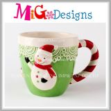Your Favorite Christmas Mug Snowman Ceramic Cup