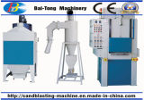 Turntable Type High Efficiency Automatic Sandblasting Machine for Small Parts