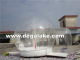 Customized Printing Inflatable Human Snow Globe for Advertising