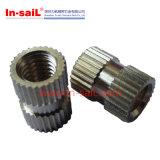 Carbon Steel Customized Straight Knurled Thread Insert Nut