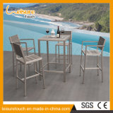 European Style Hotel Creative High Backrest Cafe Bar Plastic Wood Chair Furniture