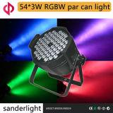 54*3W RGBW LED PAR Light for Life Show Party