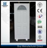 Fangda Brand Solid Core Steel Glass Metal Door