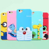 Cute Cartoon Silicone Mobile Phone Case Cover for iPhone 6
