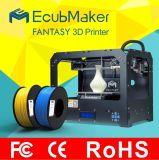 Ecubmaker Cura/Simplify3d Software 3D Printer for Sale