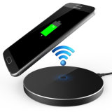 Qi Ultra-Slim Wireless Charger Metal Aluminum Wireless Charging Pad