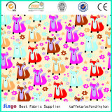 PVC Coated 100% Polyester Animal Printed Fabric for Bags with Eco-Friendly