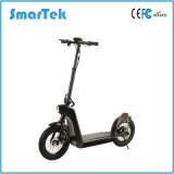 Smartek Smart Fashion Folding E-Bike- 14 Inch Wheel Size with LED Light Standing Smart Electric Scooter Patinete Electrico S-005-2