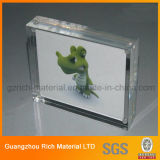 8+8mm Magnet Acrylic Photo Display/PMMA Plastic Acrylic Picture Frame