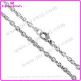 New Fashion Jewelry Accessories High Polished Stainless Steel Cross Chain