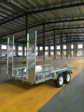 Car Transporter Galvanized Box Trailer