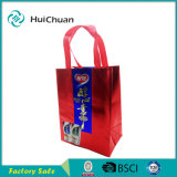 Glossy Lamination PP Non Woven Bag Drinking Packaging
