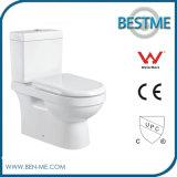 Bathroom Fitting Two Piece Ceramic Toilet