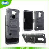 Factroy Price for High Quality 3 in 1 PC+TPU Holster Case with 180 Rotating Belt Clip and Kickstand for LG Ls775