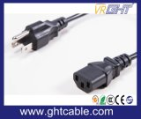 Us Power Cord & Power Plug for PC Using