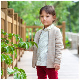 Phoebee Wool Children′s Wear Girls Clothing for Winter