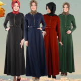 Women Readymade Islamic Kaftan Hibab Wear Long Abaya (A282)