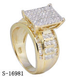 High End Product Fashion Diamond Ring Silver Jewelry