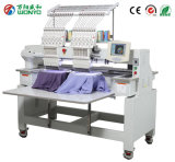 2 Head Computer Cap, T-Shirt and Flat Embroidery Machine for Sequin, Beads, Cording Embroidery Best Price