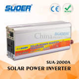 Suoer Solar Power Inverter 2000W Auto Power Inverter 12V to 220V for Home Use with Factory Price (SUA-2000A)