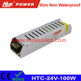 24V-100W Constant Voltage Slim Non Waterproof LED Power Supply