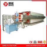 Hydrulic Automatic Recessed Membrane Filter Press for Pharmacy Wastewater