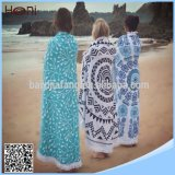 High Quanlity Cheap Wholesale Printed Round Beach Towel with Tassels