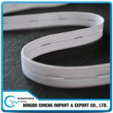 Garment Accessories White Wide Large Band Long Buttonhole Elastic Straps