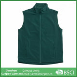 Green Colors Work Vest Be Made of Softshell Fabric