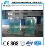 Transparent Plexiglass Material Used for Acrylic Fish Tank