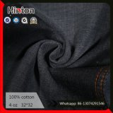 100% Cotton Jean Fabric 4oz Black Color Denim Shirting Fabric