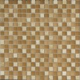 Light Yellow Color with White Color Mosaic Tile