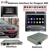 (13-16) Android HD GPS Navigation Video Interface for Peugeot 408