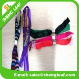 Best Selling Items Cheap Eco-Friendly Polyester Woven Wristband, Customised Wristband