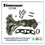 Car Exhaust System Three-Way Catalytic Converter Exhaust Manifold Cat