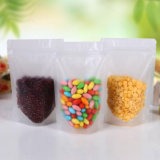 Stand up Transparent Laminated Food Pouch with Zip Lock/Plastic Packing Bag with Ziplock (ML-E13)