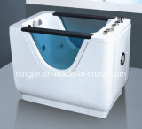 Ningjie Rectangle New Design Freetanding Massage Bathtub Nj-3053