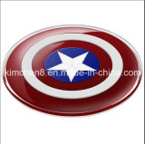 Captain America Qi Wireless Charger Pad for Samsung S6