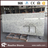 Polished White Rose Granite Countertop for Sale