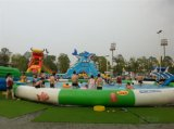 Water Slide and Pool, Inflatable Toy Style and PVC or TPU/Water Park Toys