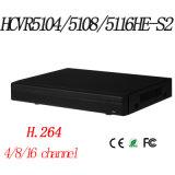4/8/16CH Tribrid 720p-PRO 1u Hdcvi DVR {Hcvr5204/5208/5216A-S2}