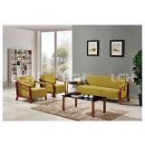 High-End Living Room Sofa Office Sofa with Comfortable Fabric Upholstery