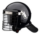 ABS Riot Control Helmet with Steel Mask