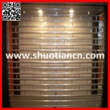 Crystal Grill Polycarbonate Shutter Door (ST-003)