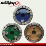Diamond Satellite Grinding Wheel for Granite Slab Calibrating