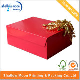 Packaging Flower Storage Red Color Paper Box (QY150221)