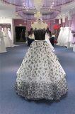 Black off Shoulder Organza Ballgown Evening Prom Dresses