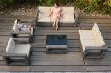 Soft Cushion Waterproof Garden Wicker Rattan Outdoor Sofa (FS-3551+FS-3552+FS-3553+FS-3554)