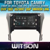 Witson Car DVD Player with GPS for Toyoya Camry 2012-2014 (W2-D8127T) Touch Screen Steering Wheel Control WiFi 3G RDS