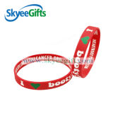 Lovely Type Debossed Cartoon Sunken Printed Logo Silicone Wristband